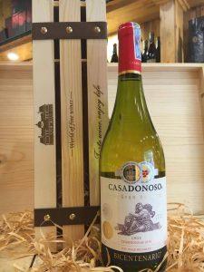 rượu vang CASADONOSO Bicentenario (Gran Reserva Chardonnay)