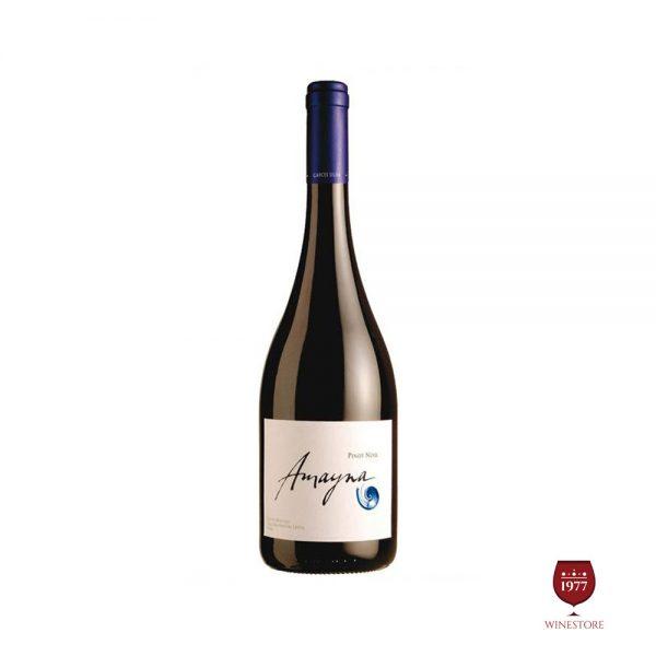 Rượu Vang Amayna Pinot Noir – Vang Chile Cao Cấp Thượng Hạng