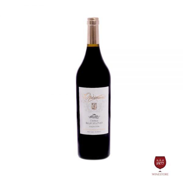 Rượu Vang Optimum Chateau Bellevue la Foret – Vang Pháp Nhập Khẩu