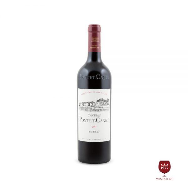 Rượu Vang Chateau Pontet Canet – Vang Pháp Chính Hãng