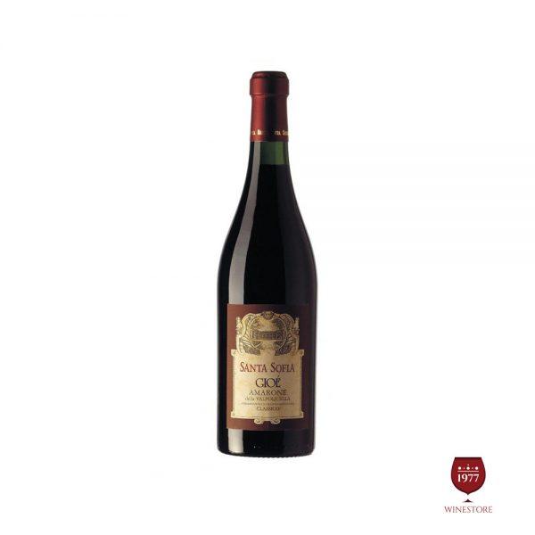 Rượu Vang Santa Sofia GIOE Amarone della Valpolicella – Vang Cao Cấp