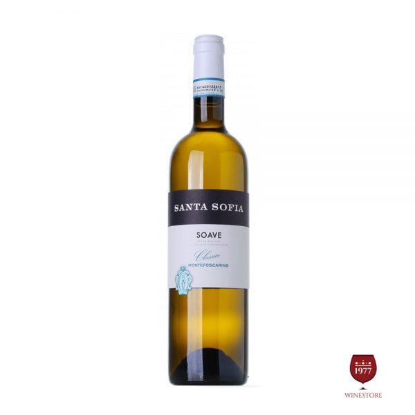 Rượu Vang Santa Sofia Soave Montefoscarino – Vang Trắng Ý Nhập Khẩu
