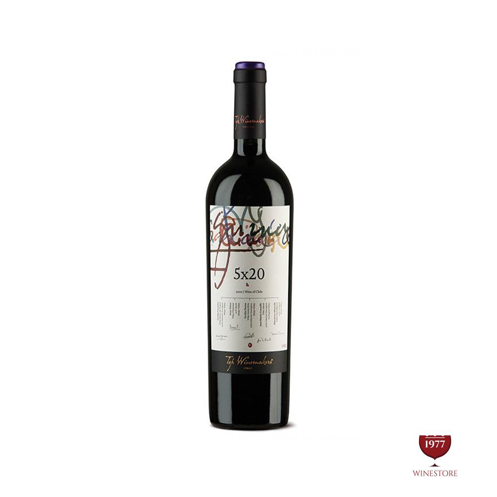Rượu Vang Chile Cao Cấp Top Winemaker 5×20 Syrah