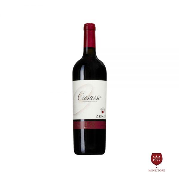 Rượu Vang Zenato Cresasso Corvina Veronese – Vang Ý Cao Cấp