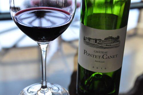 giá bán rượu vang chateau pontet canet