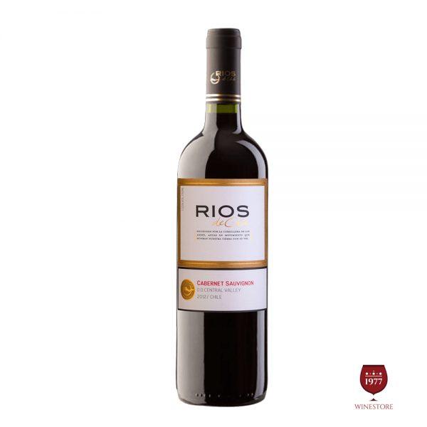 Rượu Vang Rios Cabernet Sauvignon – Vang Chile Khuyến Mãi Giá Tốt