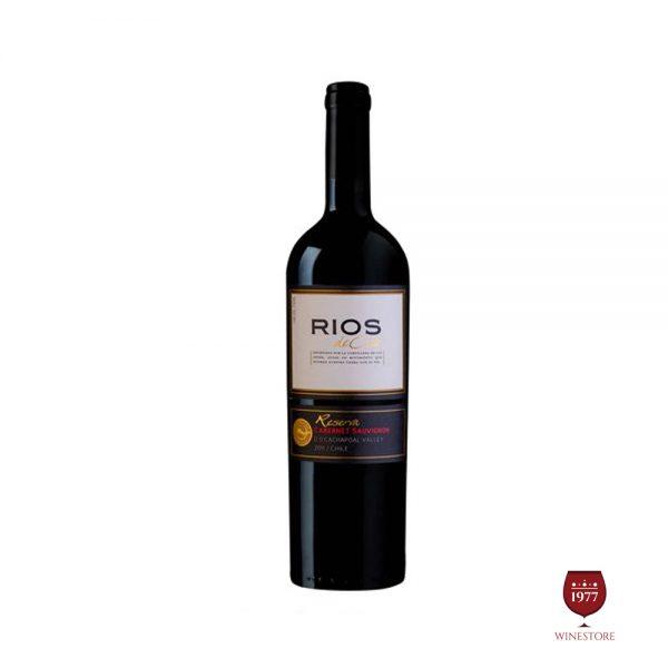 Rượu Vang Rios Reserva Cabernet Sauvignon – Vang Chile Nhập Khẩu