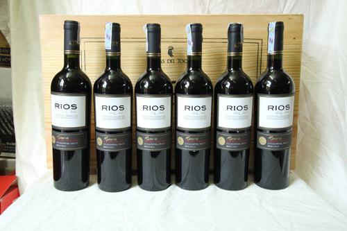 giới thiệu rượu vang Rios Reserva Cabernet Sauvignon