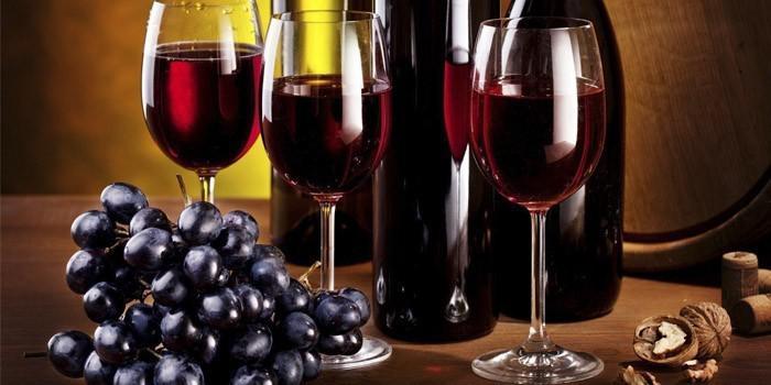 tuổi thọ trung bình của rượu vang