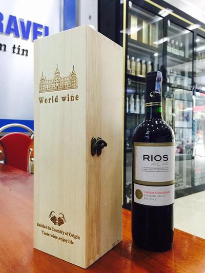 sản xuất rượu vang Rios Cabernet Sauvignon