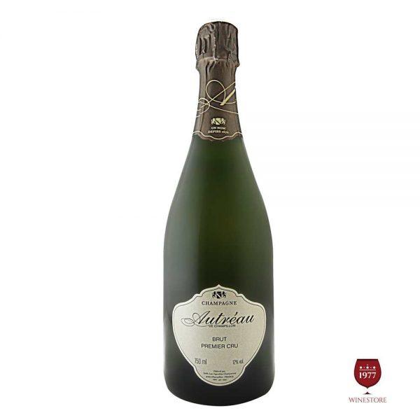 RượuChampagne Autreau Brut Premier Cru – Vang Nổ Pháp Cao Cấp