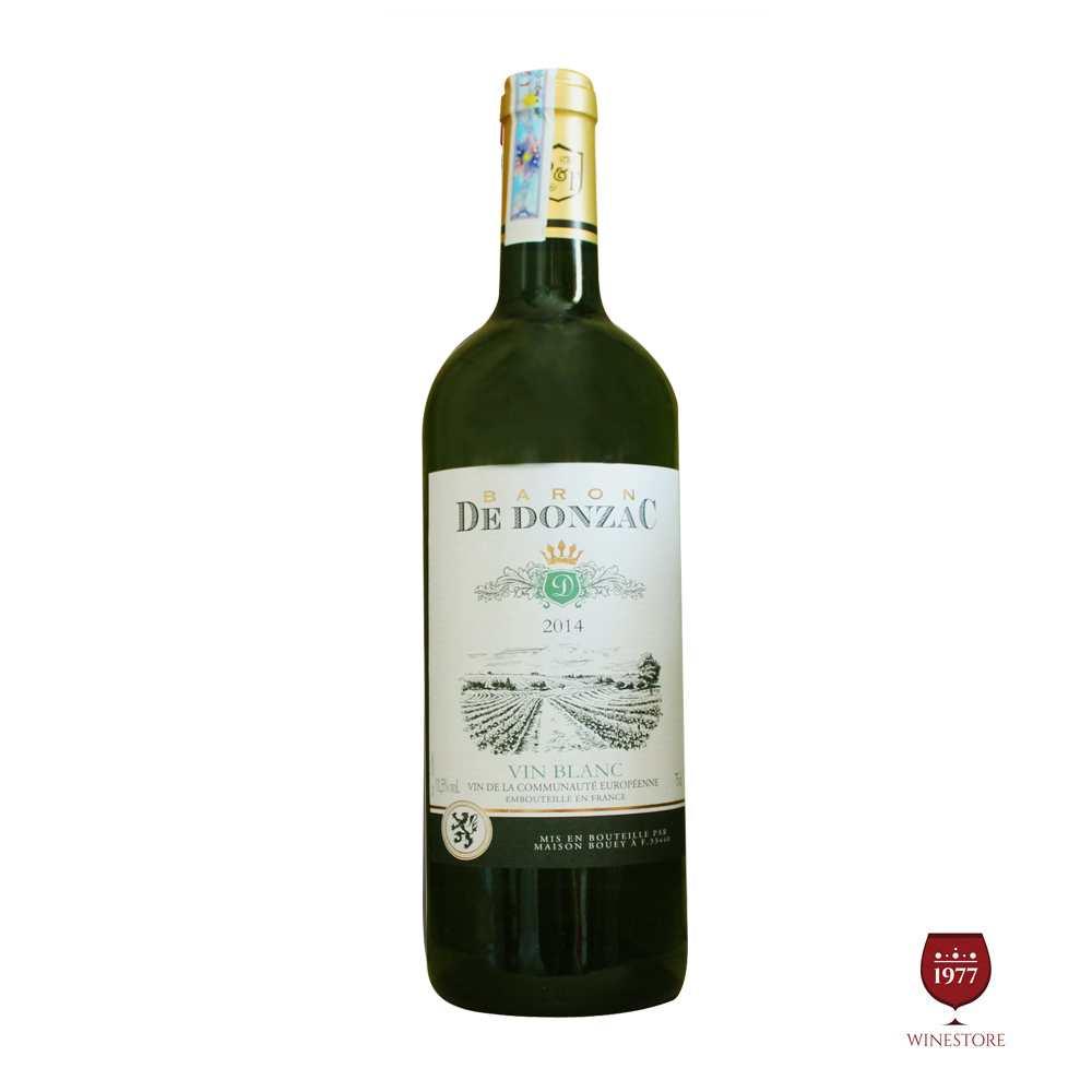 Baron De Donzac Vin Blanc 2014