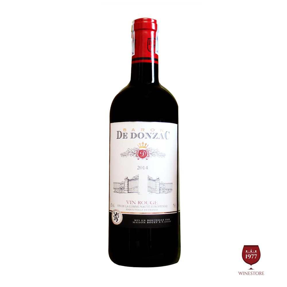 Baron De Donzac Vin Rouge 2014