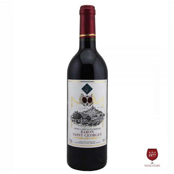 Rượu Vang Baron Saint Geoges – Vang Tây Ban Nha Chất Lượng