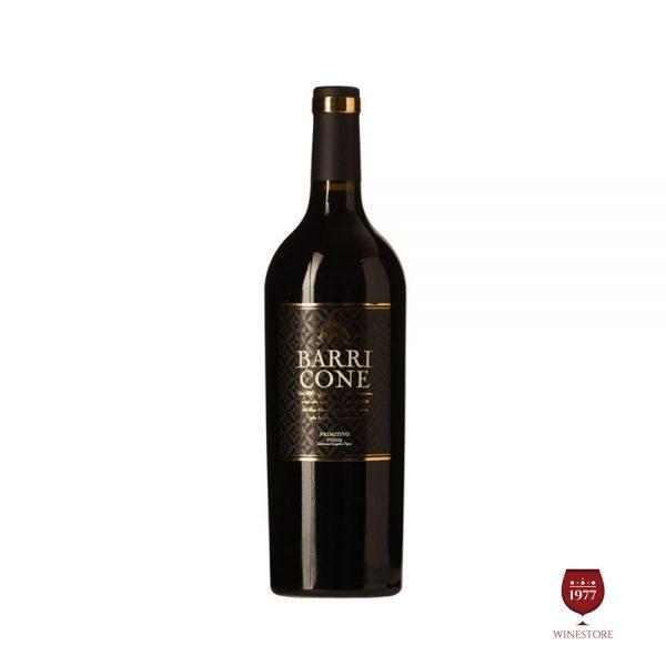 Rượu Vang Barricone Primitivo – Vang Ý Chính Hãng Giá Tốt