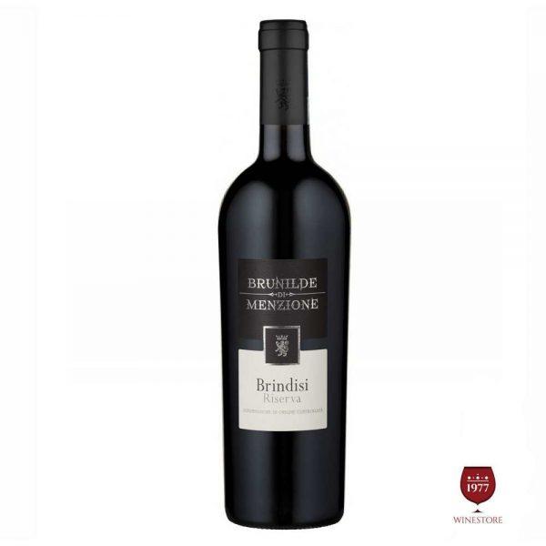Rượu Vang Brunilde Menzione Brindisi Riserva – Vang Ý Nhập Khẩu