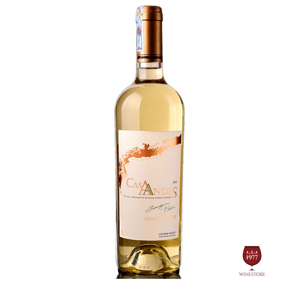 Rượu Vang Cas Andes Grand Reserve Sauvignon Blanc – Vang Chile