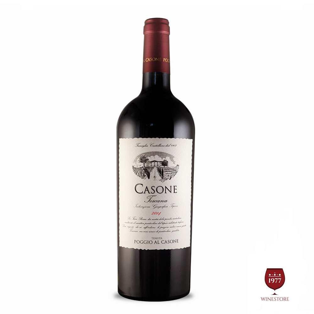 Rượu Vang Ý Casone Toscana 2013 – Vang Ý Giá Rẻ