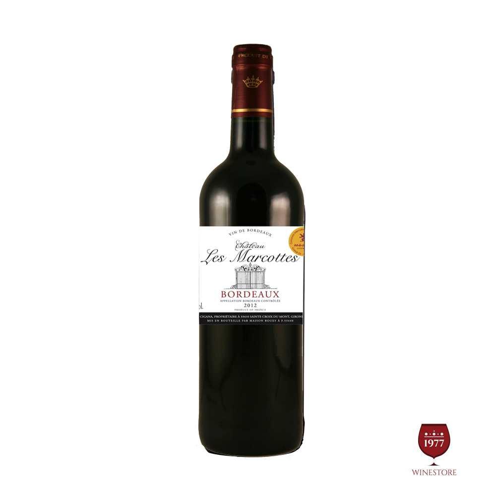 Rượu Vang Chateau Les Marcottes – Mua Vang Pháp Giá Tốt