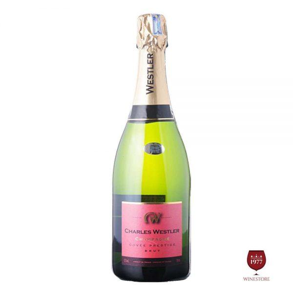 Rượu Vang Nổ Charles Westler Cuvée Prestige – Vang Nổ Pháp Cao Cấp