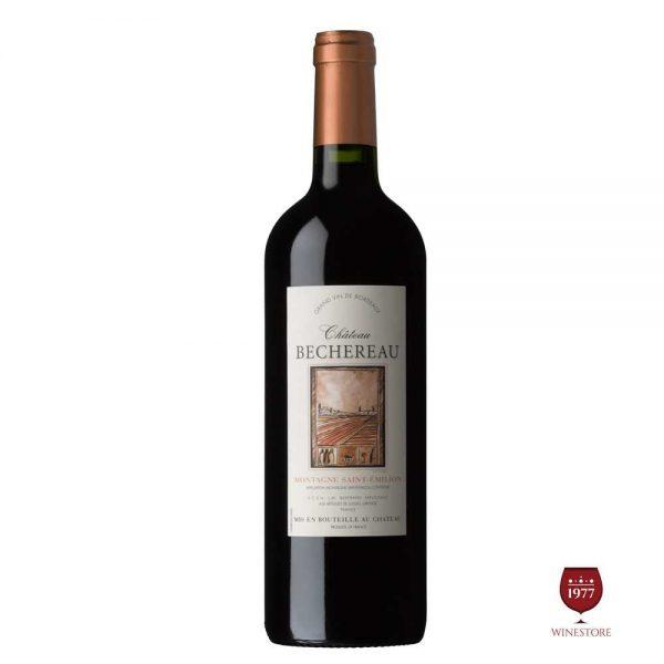 Rượu Vang Chateau Bechereau – Mua Vang Pháp Chính Hãng