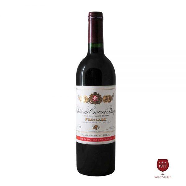 Rượu Vang Chateau Croizet Bages – Vang Pháp Grand Cru Classe