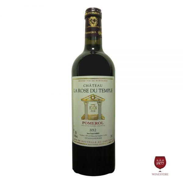 Rượu Vang Chateau De La Rose Dutemple – Mua Vang Pháp Cao Cấp