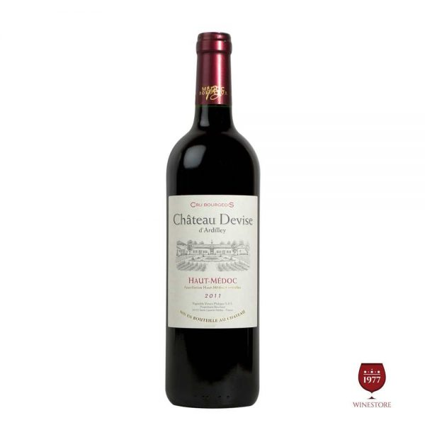 Rượu VangChateau Devise D'Ardilley (Cru Bourgeois) – Vang Pháp