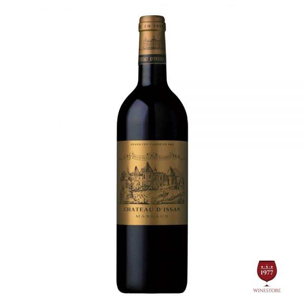 Rượu Vang Chateau D'issan – Vang Pháp Grand Cru Classe Cao Cấp