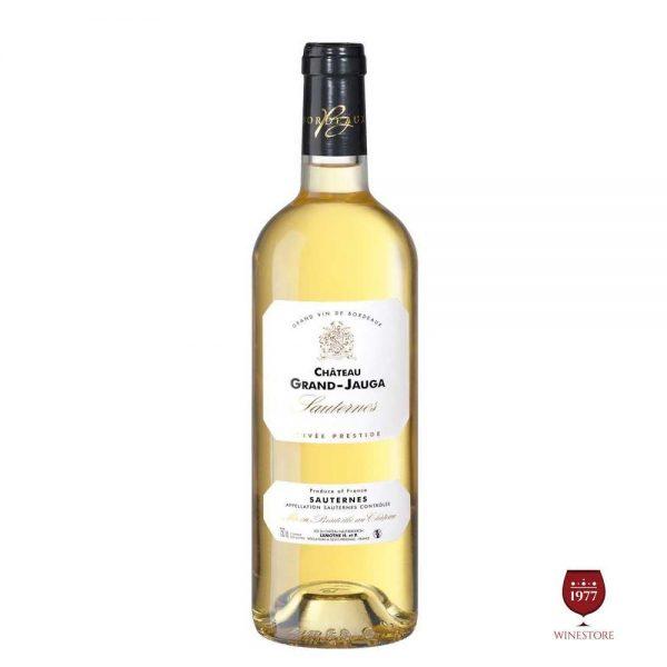 Rượu Vang Chateau Grand Jauga Sauternes – Vang Pháp Thượng Hạng