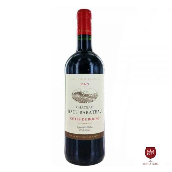 Rượu Vang Chateau Haut Barateau – Mua Vang Pháp Nhập Khẩu