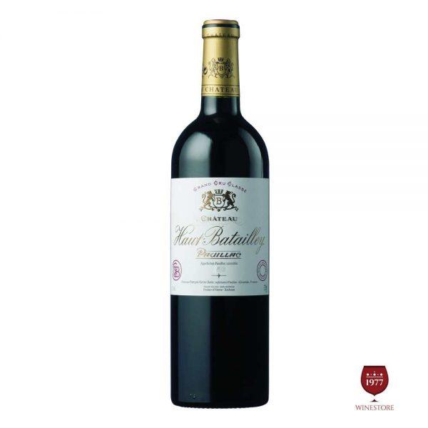 Rượu Vang Chateau Haut Batailley – Vang Pháp Ngon Cao Cấp
