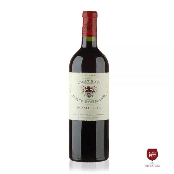 Rượu Vang Chateau Haut Ferrand – Mua Vang Pháp Thượng Hạng