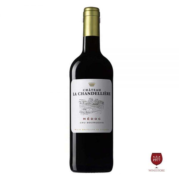 Rượu Vang Chateau La Chandelliere – Mua Vang Pháp Chính Hãng