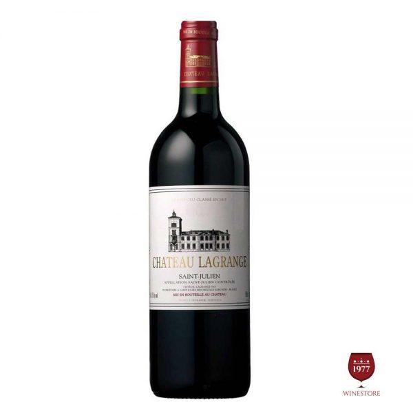 Rượu Vang Chateau Lagrange – Vang Pháp Nhập Khẩu Chính Hãng