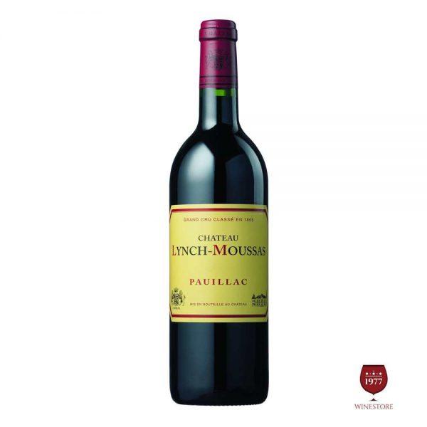 Rượu Vang Chateau Lynch Moussas – Vang Pháp Cao Cấp