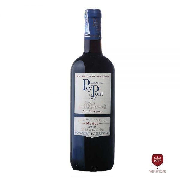 Rượu Vang Chateau Pey De Pont (Cru bourgeois) – Mua Vang Pháp