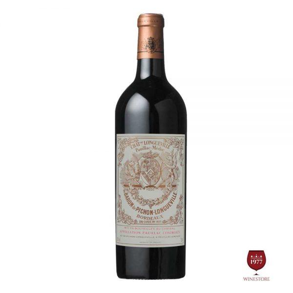 Rượu Vang Chateau Pichon Longueville – Dòng Vang Pháp Thượng Hạng