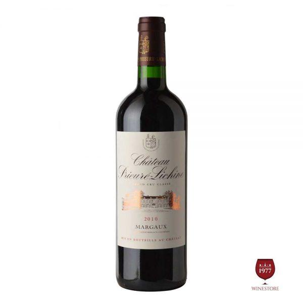 Rượu VangChateau Prieure Lichine – Khuyến Mãi Vang Pháp Cao Cấp
