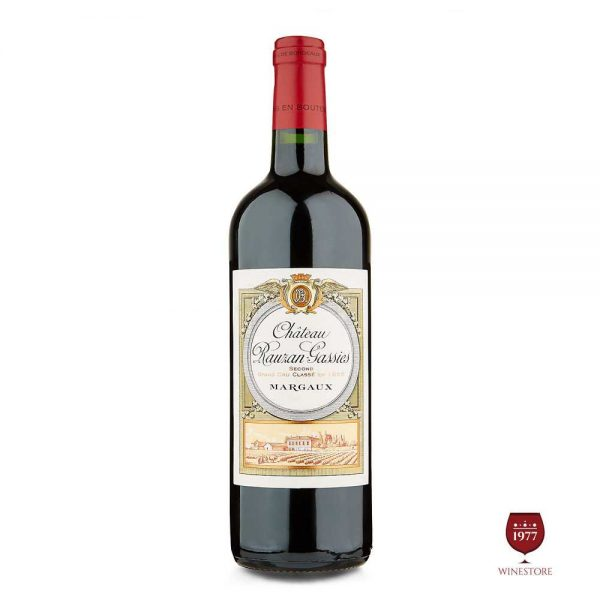 Rượu Vang Chateau Rauzan Gassies – Vang Pháp Cao Cấp Nhập Khẩu