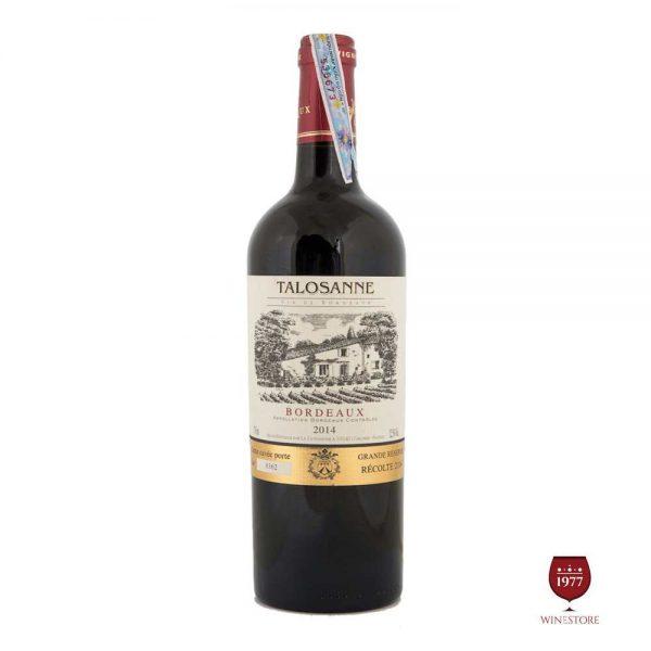 Rượu Vang Chateau Talosanne – Mua Vang Pháp Chính Hãng