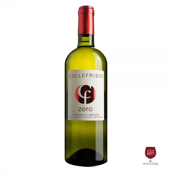 Rượu Vang Collefriso Zero – Vang Ý Chính Hãng