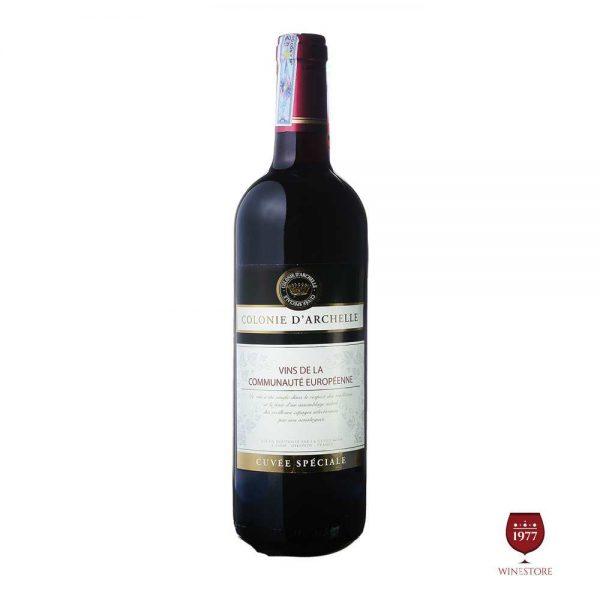 Rượu Vang Colonie D'Archelle – Vang Pháp Nhập Khẩu Giá Tốt