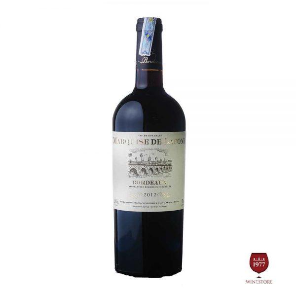 Rượu Vang Marquise De Lafond – Vang Pháp Nhập Khẩu Giá Tốt