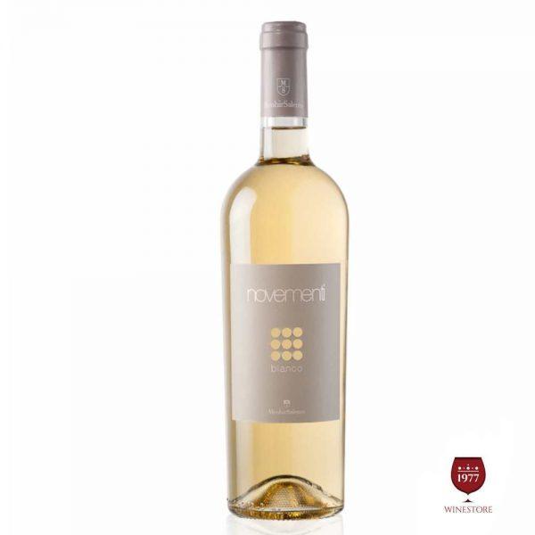 Rượu Vang Novementi Bianco – Vang Trắng Ý Nhập Khẩu