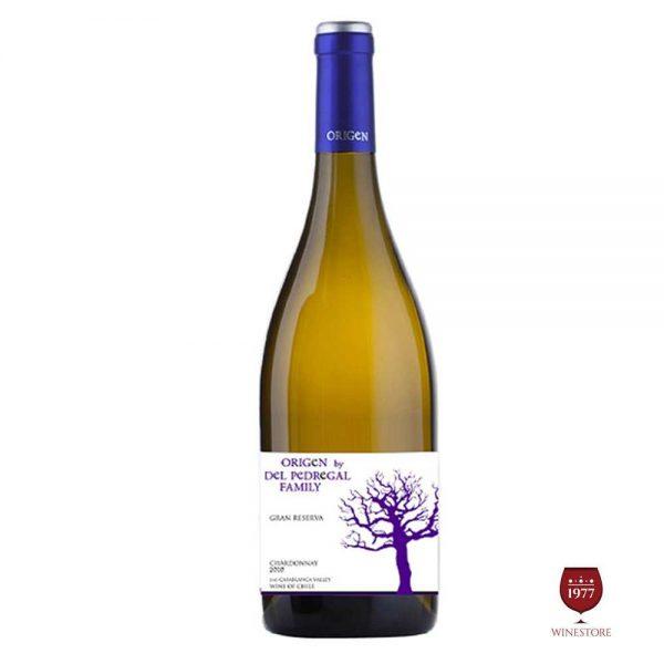 Rượu Vang Origen Reserva Chardonnay – Vang Trắng Chile Nhập Khẩu