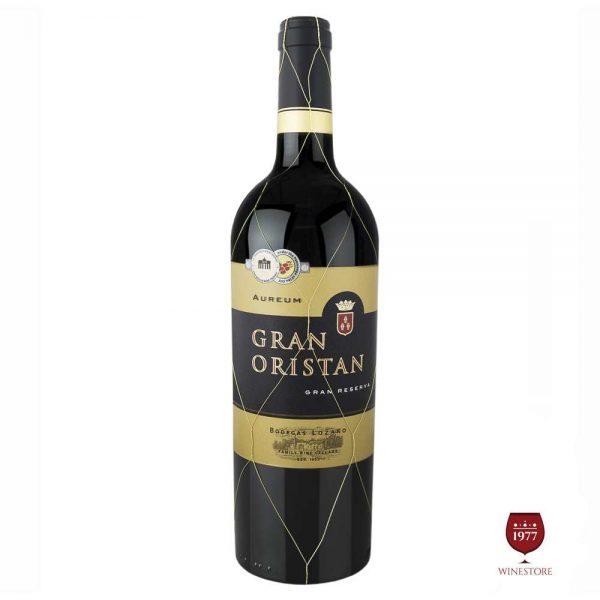 Rượu Vang Oristan Gran Reserva – Vang Tây Ban Nha Nhập Khẩu