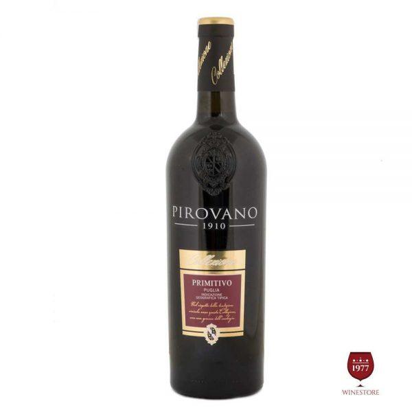 Rượu Vang Pirovano Primitivo – Vang Ý Nhập Khẩu Chính Hãng