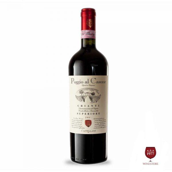 Rượu Vang Poggio Al Casone Chianti – Vang Nhập Khẩu Của Ý