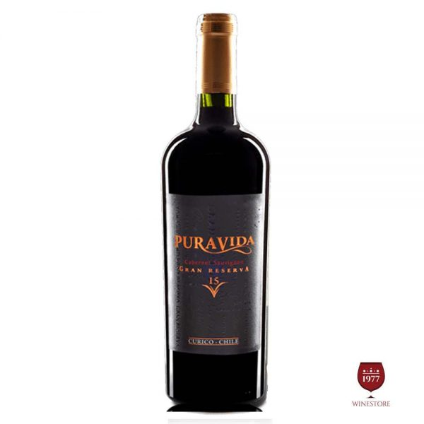 Rượu Vang Pura Vida Gran Reserva Cabernet Sauvignon – Vang Chile